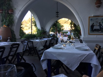 Dinner at Mavrikos. I was not impressed.