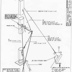 Mast Rigging Diagram 2002 Gmc Envoy Parts H260 Standing
