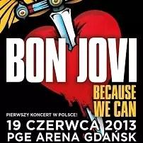 Koncert Bon Jovi w Gdańsku, 2013