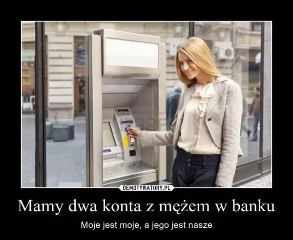Wspólne konto bankowe - konto bankowe z mężem czy osobno?