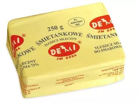Demi masło śmietankowe