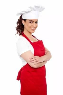 Studentka pracująca jako kelnerka