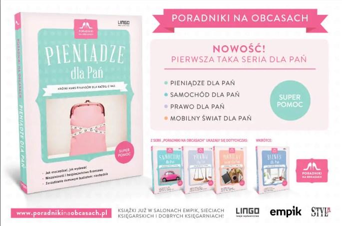 Seria Poradniki na obcasach - książki dla pań