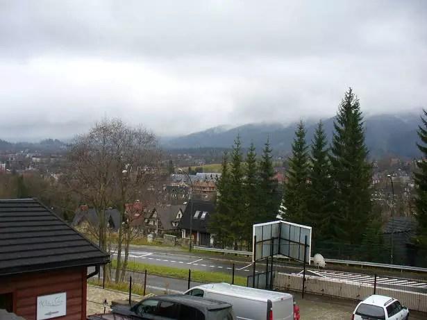 Mgła w Zakopanem