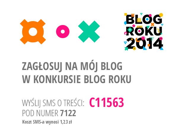 Głosowanie w konkursie Blog Roku