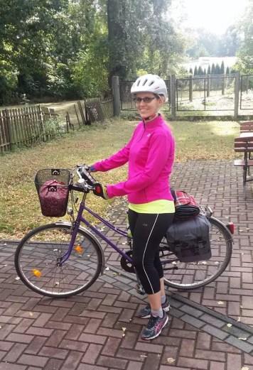 Oszczędzanie - jazda na rowerze