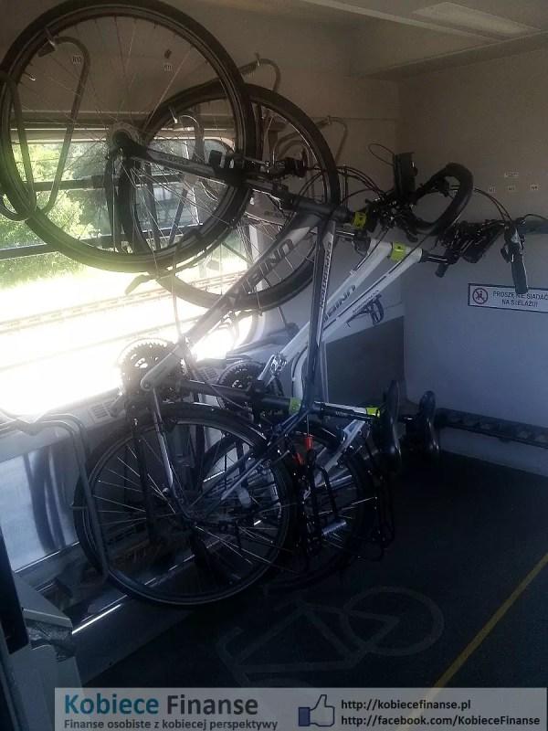 Rowery w pociągu IC