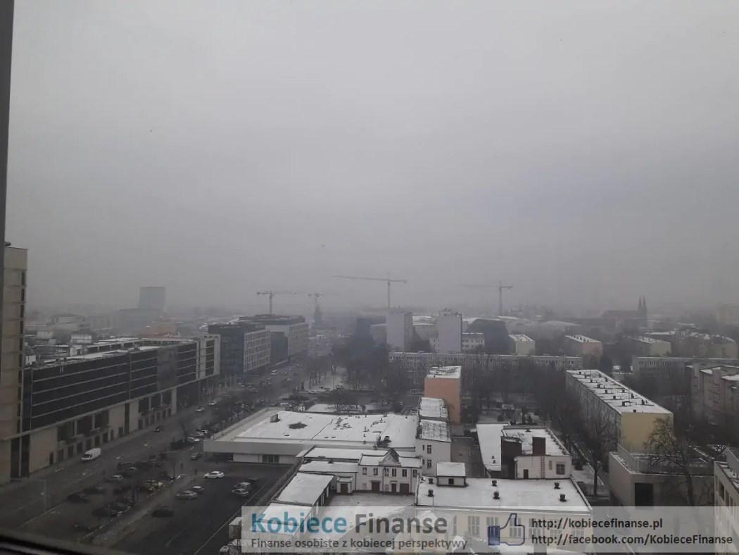 Smog we Wrocławiu - styczeń 2016 - Silver Tower