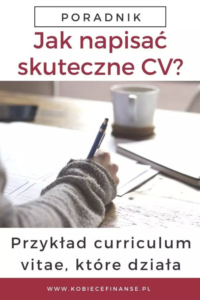 Przykład curriculum vitae, które działa