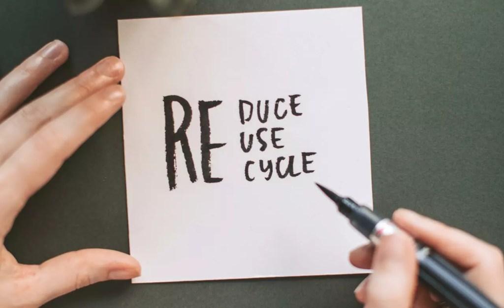 Zero waste w domu. Zasada 3R: reduce, reuse, recycle.