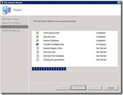 Moving SCCM server to new hardware (4/6)