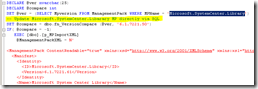 SCOM Authoring console and the mysterious Microsoft.SystemCenter.Library.mp version 6.1.7221.61 (2/3)