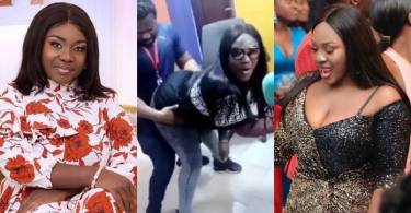 Emelia Brobbey Surprises Presenter With Her Tw3rks - Video Below
