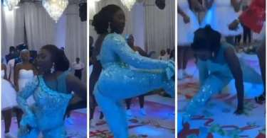 Bride Nearly Tw3rk To Death During Her Wedding - Video