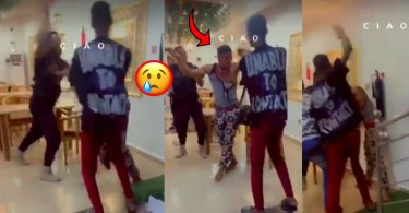 Fraud Boy Beaten To The Bone 4 Paying With Fake Momo Transfer At A Restaurant - Video