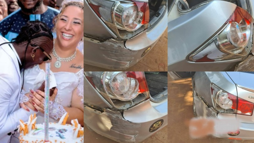 Patapaa Survives Car Accident With Wife Liha Miller - Video
