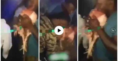 Sakawa boys Seen Chewing Live Chicken To Perform Their Rituals - Watch N Be Shocked