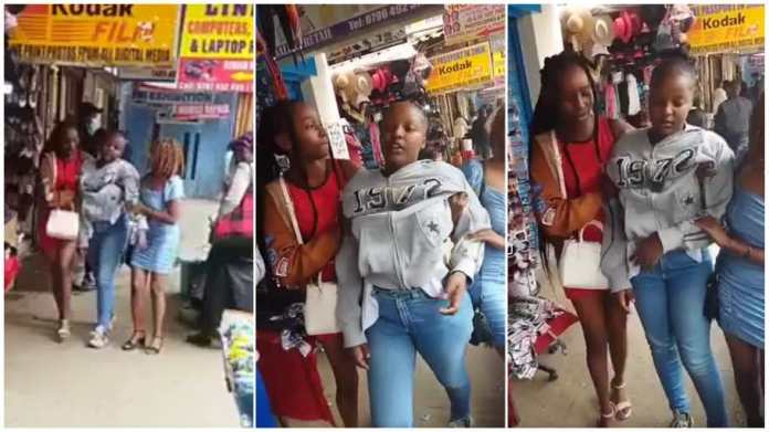 Alleged Drunk Student Seen Rocking In Town Doing The Unsuspected - Video