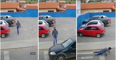 Insane Hit N Run Captured On Camera Will Make Your Go Mad - Video