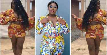 Maame Serwaa Throw Sugar On Guys By Showing Her Raw Saxxy Body - Video Trends