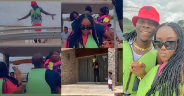 Stonebwoy's Lovely Wife Dr Louisa Releases Family Love Video Online - Watch