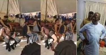 Strippers Storm Funeral Ground To Release Sugar On Mourners - Video