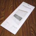 MacBookのキーボードカバーを買いました