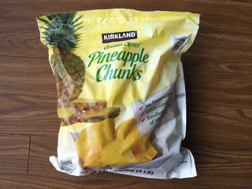 Costco Pineapple chunks