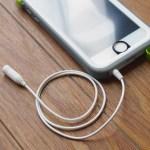 iPhone用防水ケース catalyst(カタリスト)で使えるオーディオケーブル