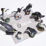 【ペンギングッズ】当選しました!アイラブデスクのペンギンフィギュア8体セット
