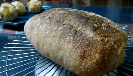 自家製酵母で初めて挑戦する高加水パン、パン・ド・ロデヴ!