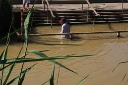 Taufstelle Jesu im Jordan