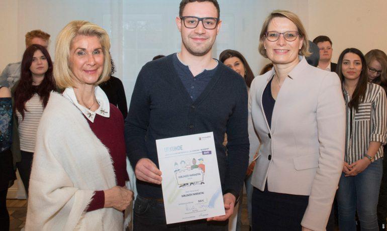 Koblenzer Fahrradtag durch die Landesregierung geehrt