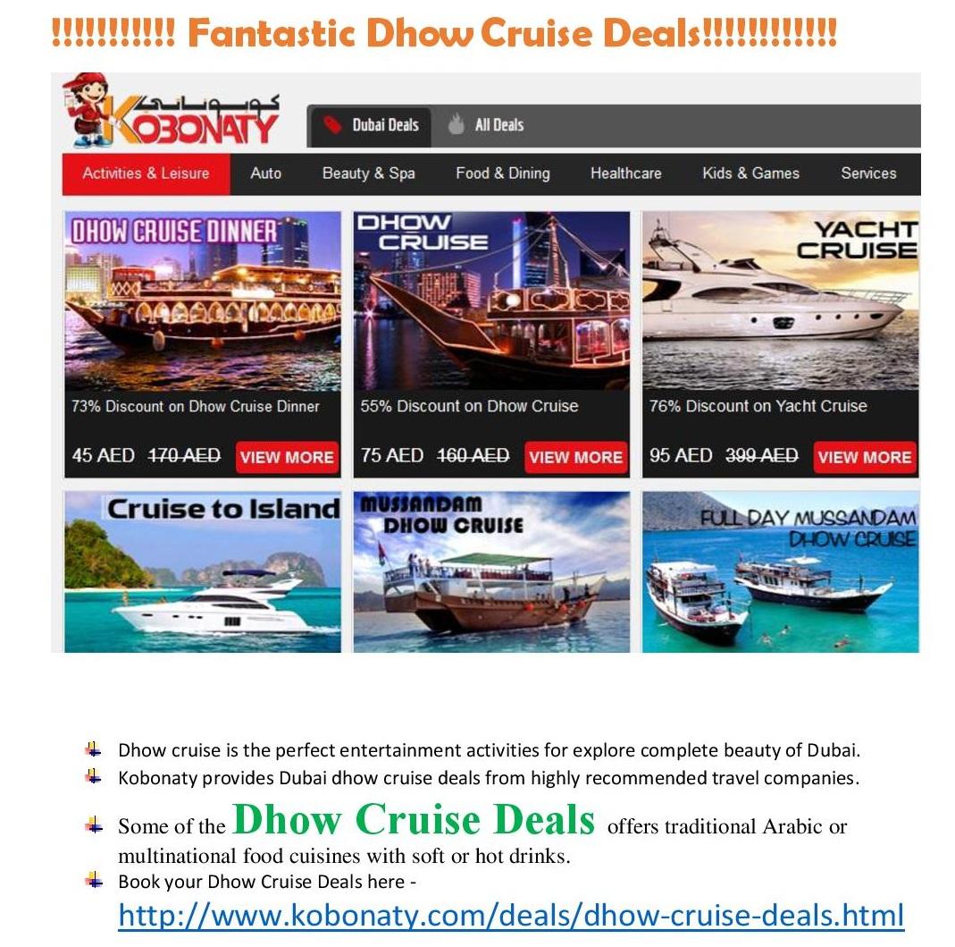 Leisure Activities Dubai Deals And Discounts