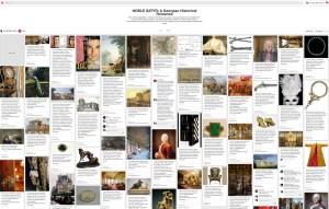 Pinterest board for NOBLE SATYR.