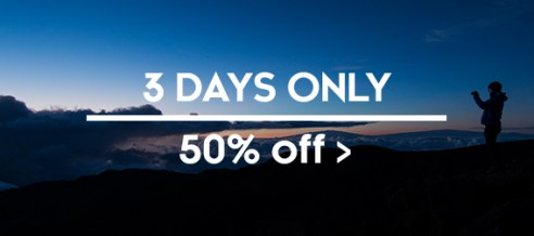 50% off sale