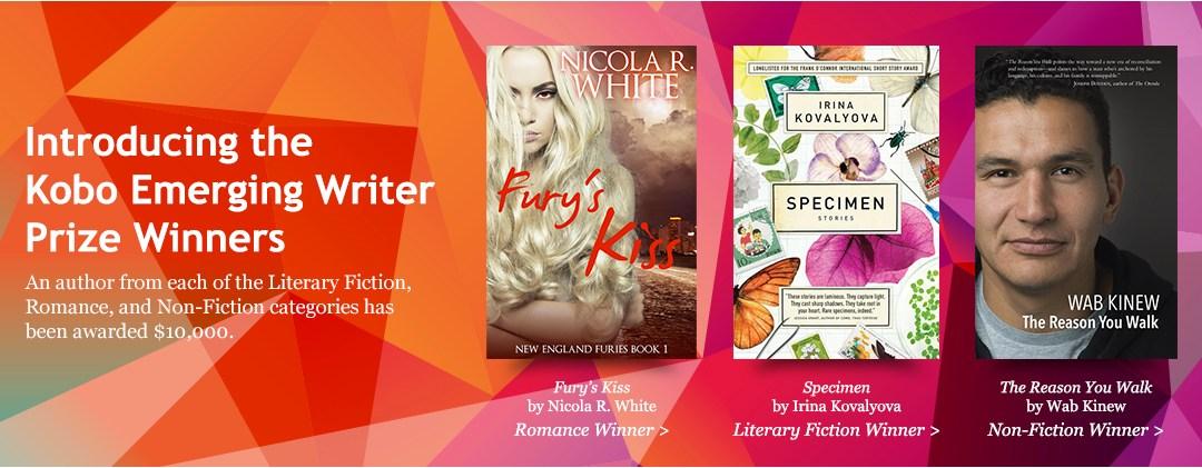 Introducing the Kobo Emerging Writer Prize Winners