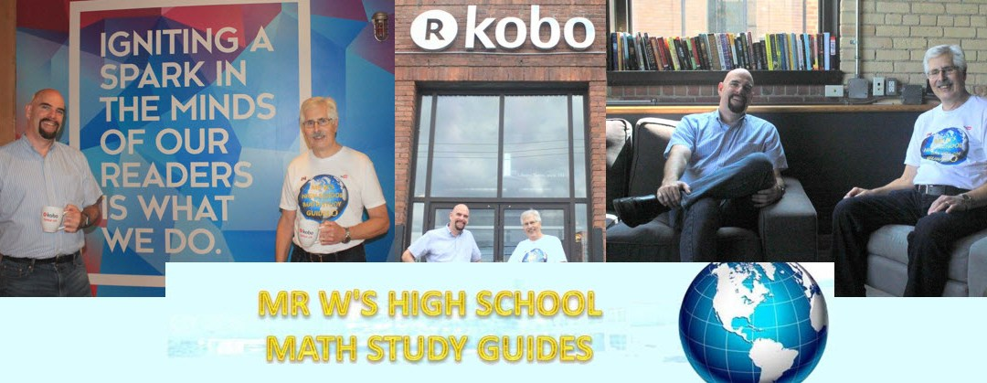 Kobo Writing Life Podcast – Episode 90 – Mr W's Math Study Guides