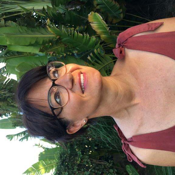 Portrait photo de l'autrice Reine Andrieu, lauréate 2020