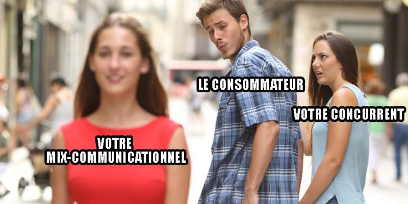 Mix de communication.