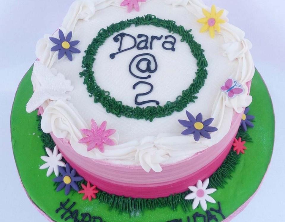Beautiful Buttercream Birthday Cake