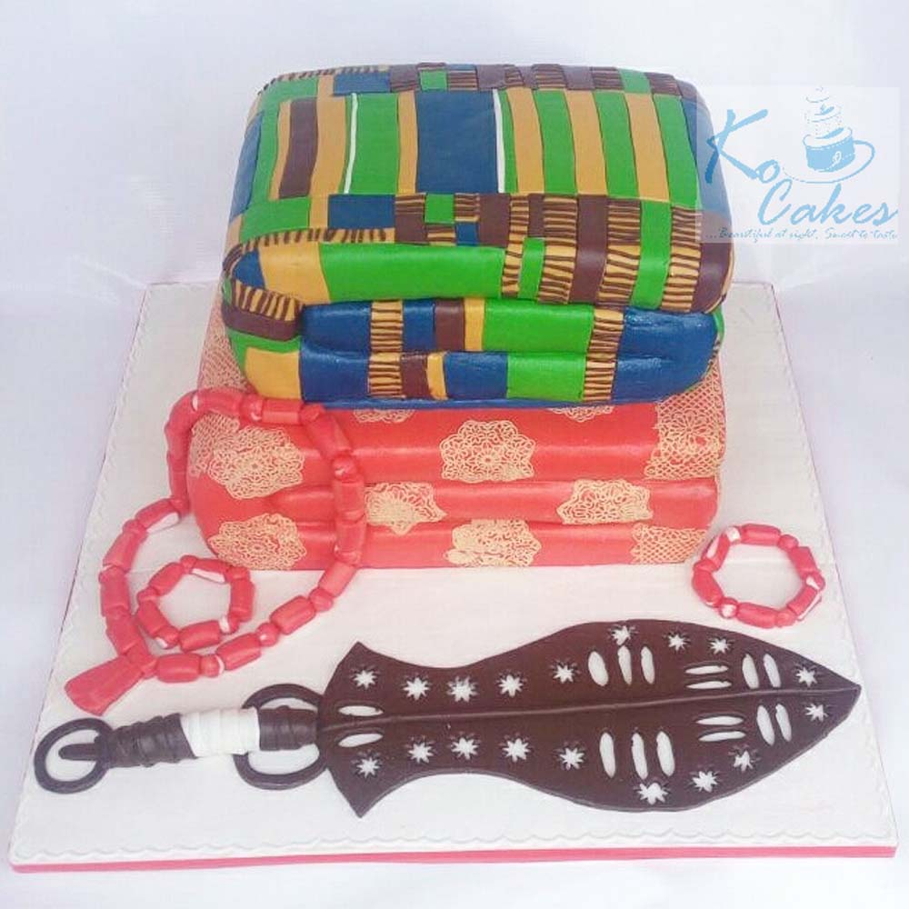 Benin Wrapper Traditional Cake