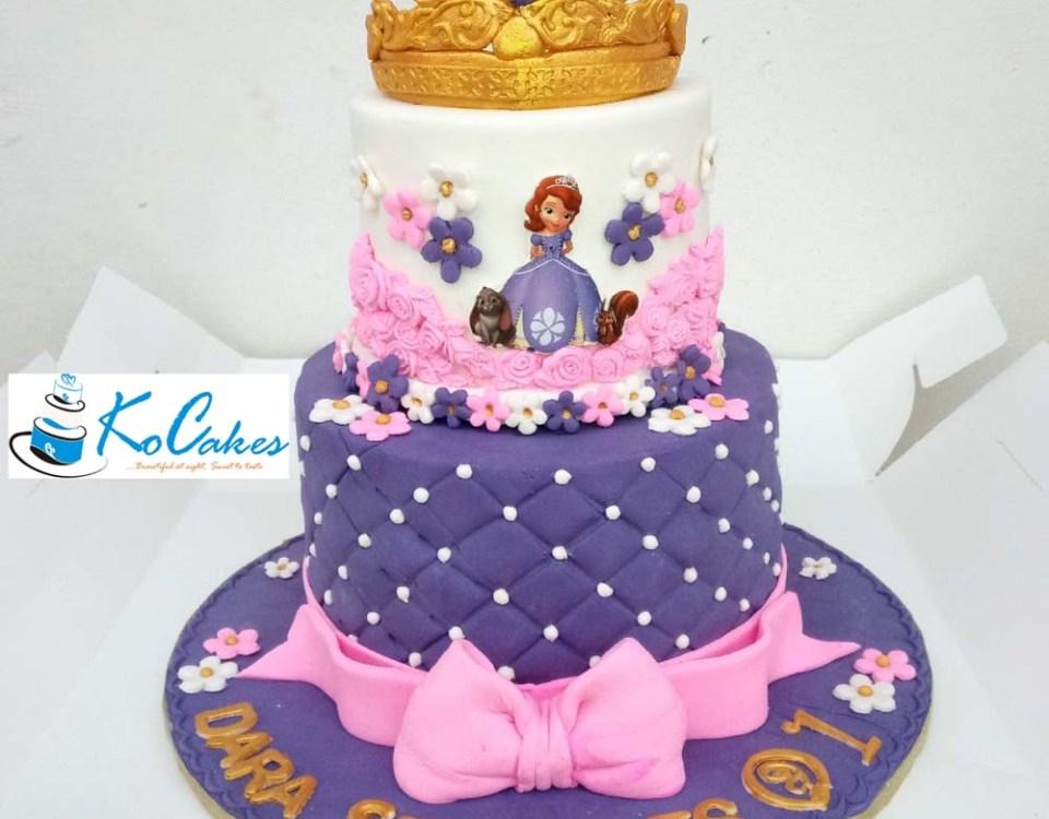 Princess Sofia Cake V3