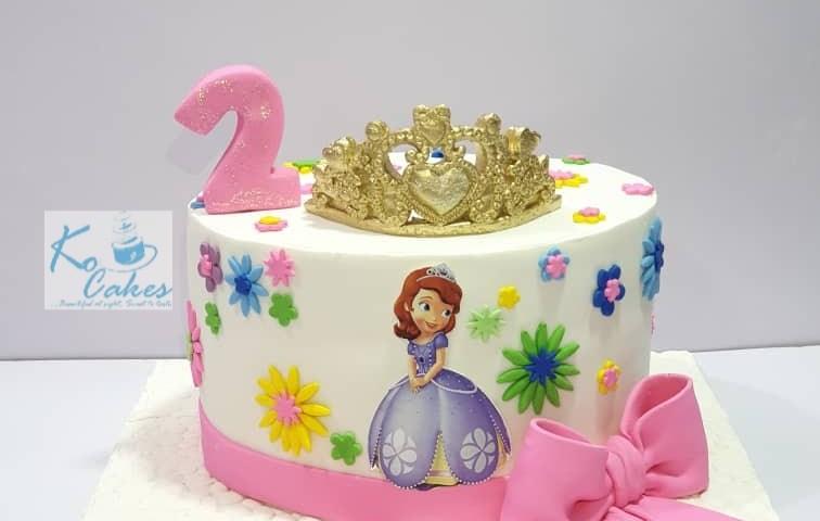 Pricess Sophia Cake
