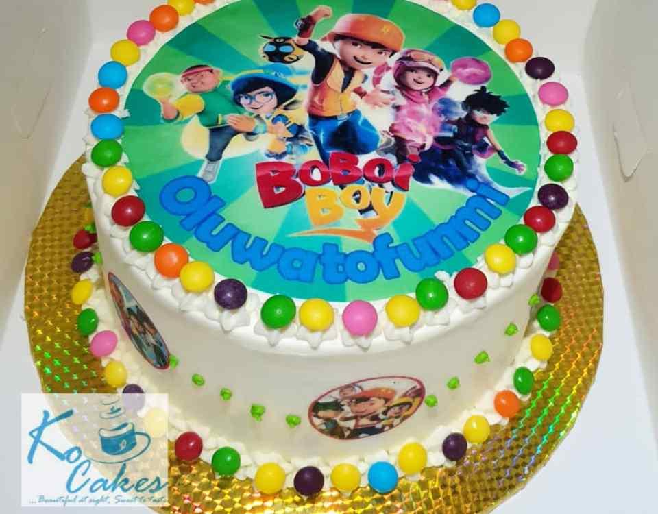 Boboi cake