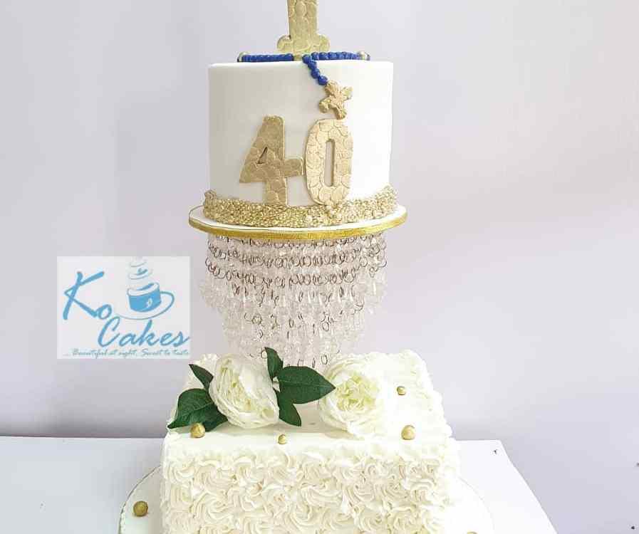 Chaplain birthday cake