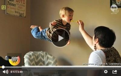Tata latającego chłopca odczarowuje zespół Downa