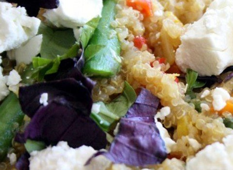 Spargel-Quinoa-Pfanne