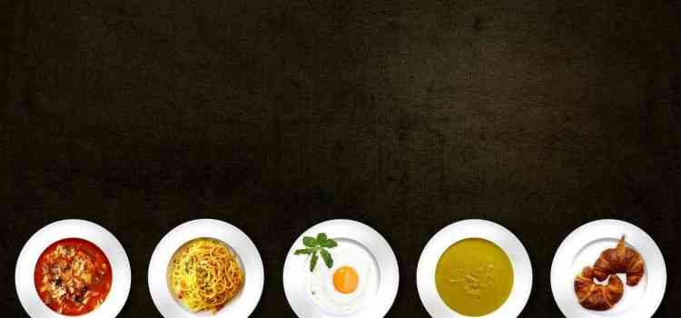 Die 5 Sinne und der Gourmetteller