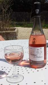 Côtes - de - Provence im Glas